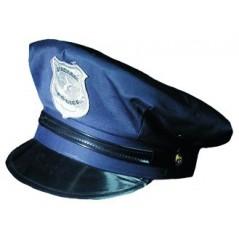 Soirée Police américaine, jolie casquette de police.