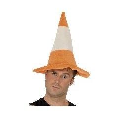 soirée prevention, chapeau cone de signalisation