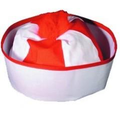 Bonnet de marin rouge Moussaillon / La croisière s'amuse 2,12 €