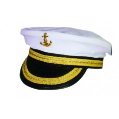 Casquette Capitaine brodée
