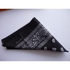 Bandana Noir 53 x 53 cm Accessoires 0,90 €