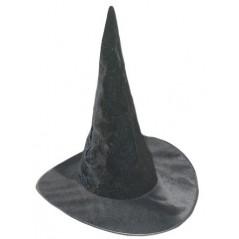 Chapeau sorcière Noir uni