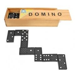 Dominos coffret bois 15 x 5 x3