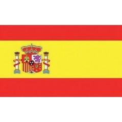 Drapeau Espagne 90 x 150 cm gainé