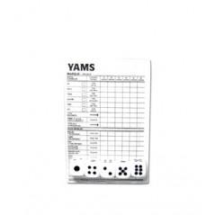 Yam's 5 dés 13 mm + 10 pages scores Jeux de société 0,84 €