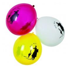 Ballon Far West sachet de 6