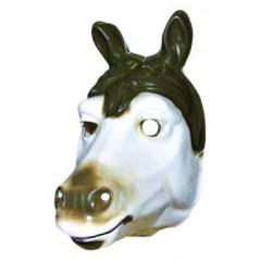 Masque Cheval moyen modèle plastique rigide