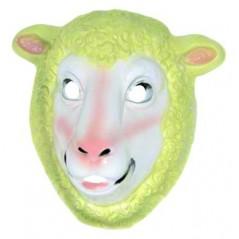 Masque Mouton moyen modèle plastique rigide
