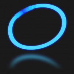 Bracelet fluo bleu la bte de 100
