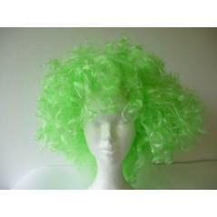 Perruque disco folle Verte