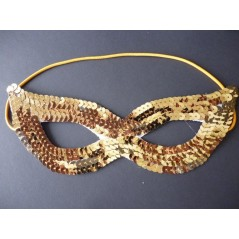 Loup sequins Or Loups et Masques 1,41 €