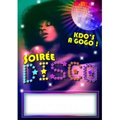 Affiche boutique 29.7 * 42 Soirée Disco Accessoires 0,50 €