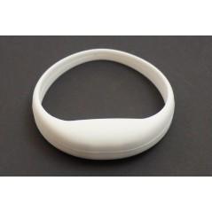Bracelet lumineux mouvement silicone Blanc