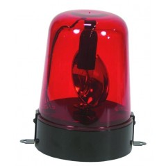 Gyrophare Disco 220 volts Rouge
