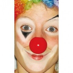 Lot de 12 Nez de clown plastique