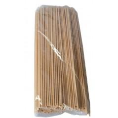 Brochettes en bois de 15 cm paquet de 200