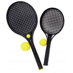 Tennis play 2 raquettes 52 cm+ 1 balle mousse Plein air  2,48 €