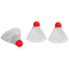 Volants badminton lot de 3
