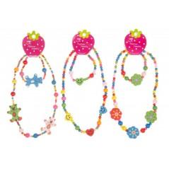 Bracelet et collier bois Jeux filles 0,53 €