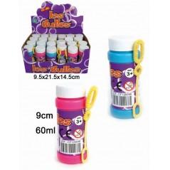 Boite de 24 flacons de bulle de savon 60ml