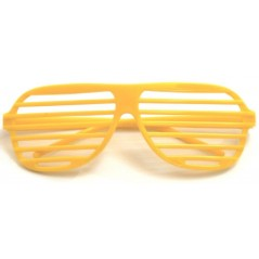 Lunette story jaune d'or