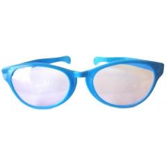 Lunettes géantes Bleu avec verres