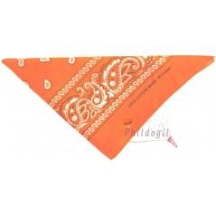 Bandana orange 53 x 53 cm