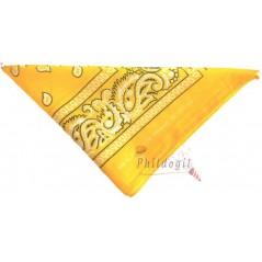 Bandana jaune 53 x 53 cm Articles Evènementiel 0,90 €