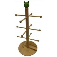 Présentoir en bois pour articles