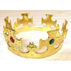 Pour la nuit des rois pensez aux couronne de roi couleur or
