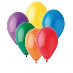 Ballons multi 30 cm le cent