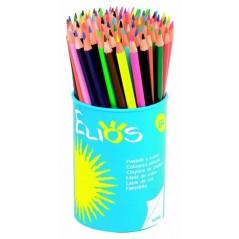 Etui 12 crayons de couleurs assorties