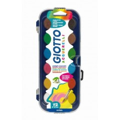 Gouache en pastilles - Bte de 12 + 1 Pinceau Peinture - Gouache -Acrylique 2,72 €