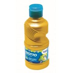 Flacon 250 ml gouache acrylique omya. or