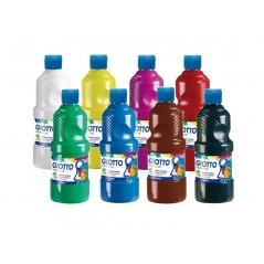 Assort 6 flacons peinture acrylique 500 ml