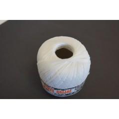 Pelote 50 g coton perlé blanc