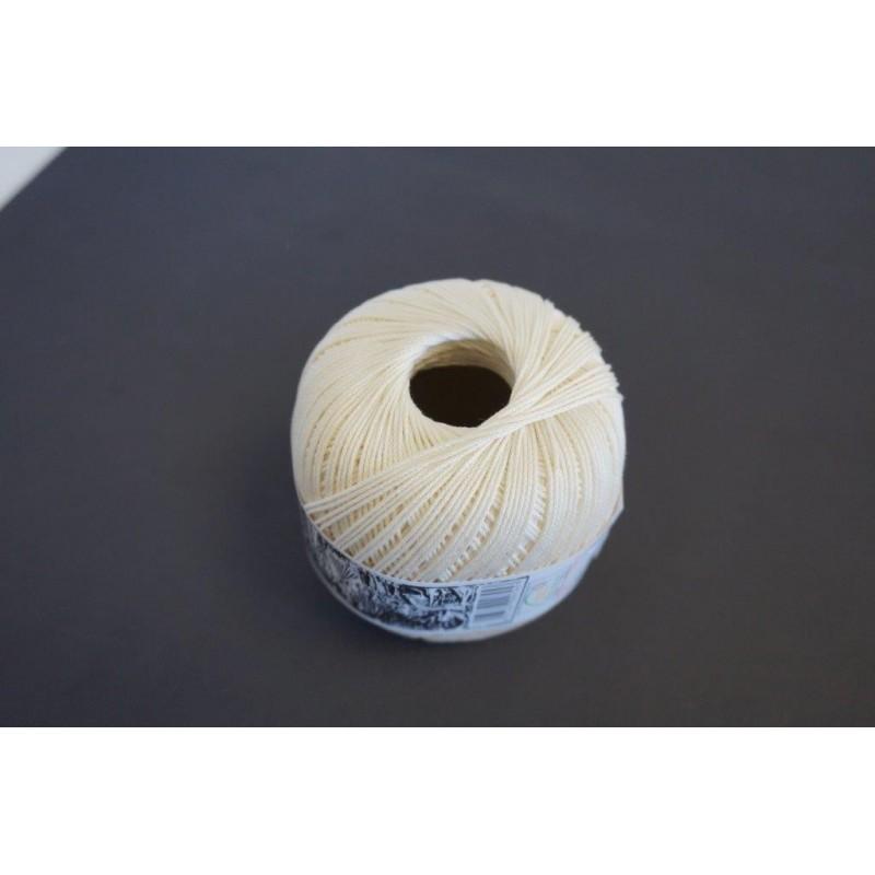 Pelote 50 g coton perlé écru Décopatch - Feutrine - Laine - Objet à décorer 2,71 €