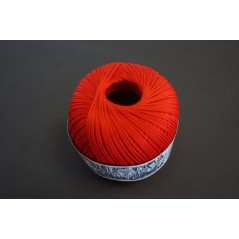 Pelote 50 g coton perlé rouge