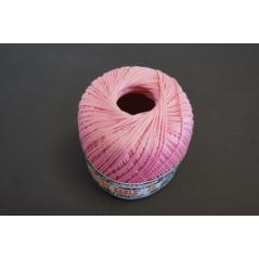 Pelote 50 g coton perlé rose