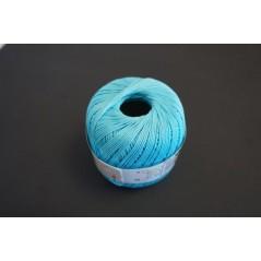 Pelote 50 g coton perlé bleu clair