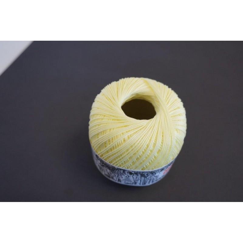 Pelote 50 g coton perlé jaune Décopatch - Feutrine - Laine - Objet à décorer 2,71 €