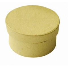 Boîte carton ronde diam 70 mm hauteur 39 mm