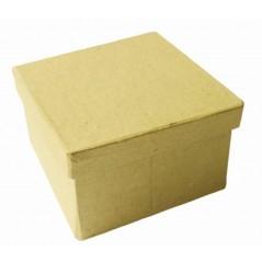 Boîte carton carrée 85 x 85 x hauteur 52 mm