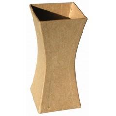 Vase carton base carré 123x56x56