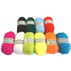 Assortiment 500g de laine (10 pelotes)