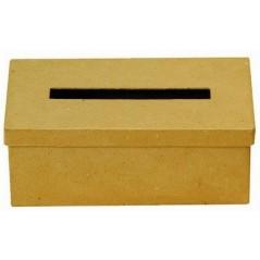 Boîte à mouchoirs carton