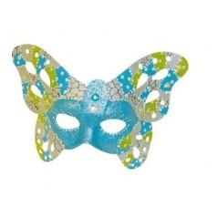Masque papillon à décorer 23.5 x 19 .5 cm