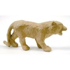 Tigre 12 cm papier maché