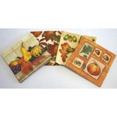 Paquet 20 serviettes papier assortis par thème automne