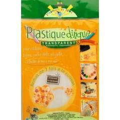 Poch. plastique dingue transparent 202 x 262